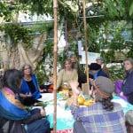 Rabbi Debra Kolodny | As the Spirit Moves Us. Occupy Portland Sukkah - Rabbi Debra Teaching
