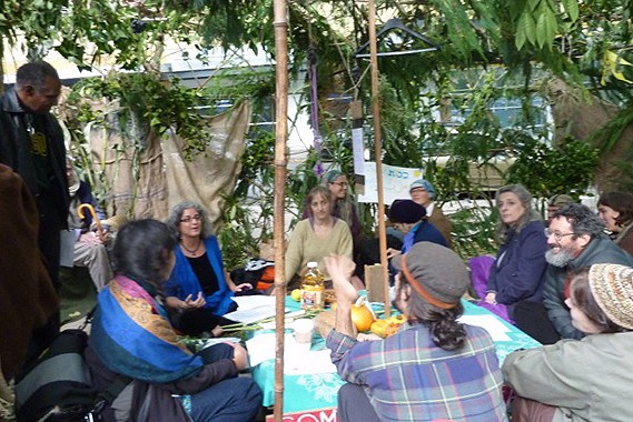 Rabbi Debra Kolodny | Occupy sukkah 3